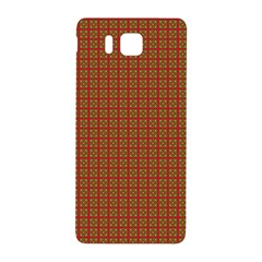 Christmas Paper Wrapping Paper Samsung Galaxy Alpha Hardshell Back Case