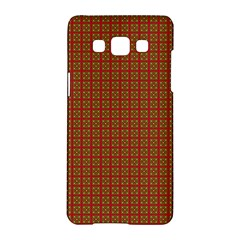 Christmas Paper Wrapping Paper Samsung Galaxy A5 Hardshell Case