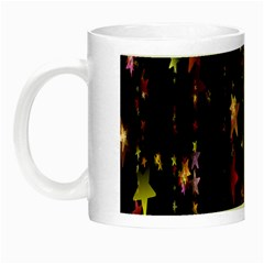 Christmas Star Advent Golden Night Luminous Mugs