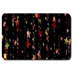 Christmas Star Advent Golden Large Doormat