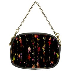 Christmas Star Advent Golden Chain Purses (one Side)