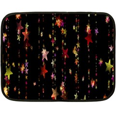 Christmas Star Advent Golden Fleece Blanket (Mini)
