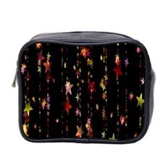 Christmas Star Advent Golden Mini Toiletries Bag 2-Side