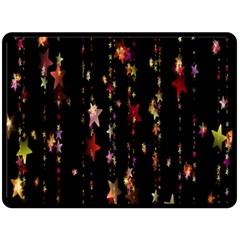 Christmas Star Advent Golden Fleece Blanket (Large)