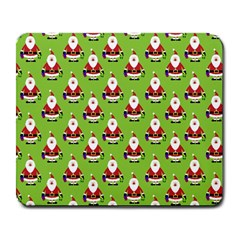 Christmas Santa Santa Claus Large Mousepads