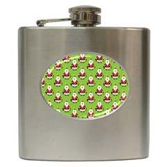 Christmas Santa Santa Claus Hip Flask (6 Oz)
