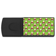 Christmas Santa Santa Claus USB Flash Drive Rectangular (2 GB)