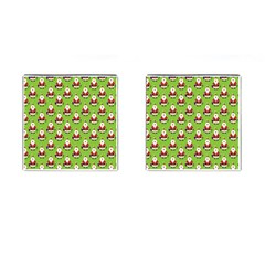 Christmas Santa Santa Claus Cufflinks (Square)