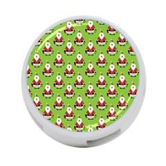 Christmas Santa Santa Claus 4-Port USB Hub (Two Sides)