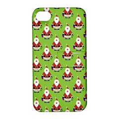 Christmas Santa Santa Claus Apple iPhone 4/4S Hardshell Case with Stand