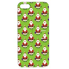 Christmas Santa Santa Claus Apple iPhone 5 Hardshell Case with Stand