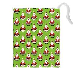 Christmas Santa Santa Claus Drawstring Pouches (xxl)