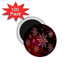 Christmas Snowflake Ice Crystal 1.75  Magnets (100 pack)
