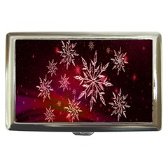 Christmas Snowflake Ice Crystal Cigarette Money Cases