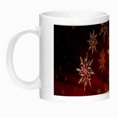 Christmas Snowflake Ice Crystal Night Luminous Mugs