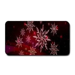 Christmas Snowflake Ice Crystal Medium Bar Mats