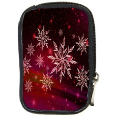 Christmas Snowflake Ice Crystal Compact Camera Cases
