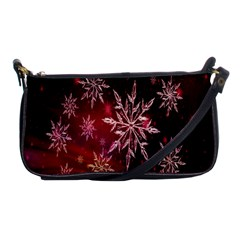 Christmas Snowflake Ice Crystal Shoulder Clutch Bags
