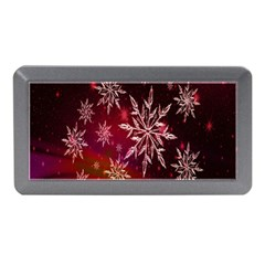 Christmas Snowflake Ice Crystal Memory Card Reader (Mini)