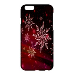 Christmas Snowflake Ice Crystal Apple iPhone 6 Plus/6S Plus Hardshell Case