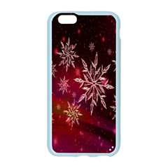 Christmas Snowflake Ice Crystal Apple Seamless iPhone 6/6S Case (Color)