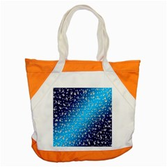 Christmas Star Light Advent Accent Tote Bag