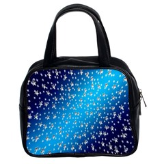 Christmas Star Light Advent Classic Handbags (2 Sides)