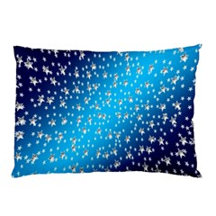 Christmas Star Light Advent Pillow Case (Two Sides)