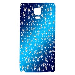 Christmas Star Light Advent Galaxy Note 4 Back Case