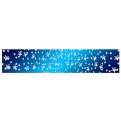 Christmas Star Light Advent Flano Scarf (small)