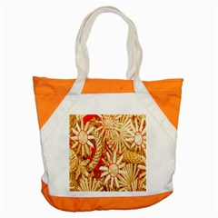 Christmas Straw Xmas Gold Accent Tote Bag