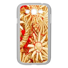 Christmas Straw Xmas Gold Samsung Galaxy Grand DUOS I9082 Case (White)
