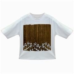 Christmas Snowmen Rustic Snow Infant/Toddler T-Shirts