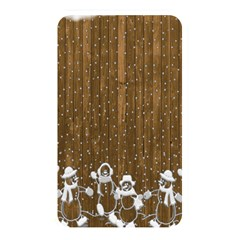 Christmas Snowmen Rustic Snow Memory Card Reader