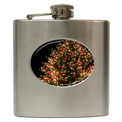Christmas Tree Hip Flask (6 Oz)
