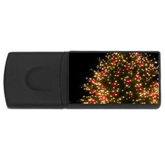 Christmas Tree USB Flash Drive Rectangular (4 GB)