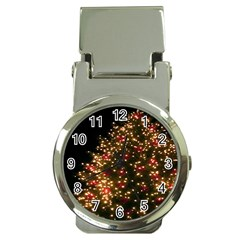 Christmas Tree Money Clip Watches