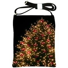 Christmas Tree Shoulder Sling Bags