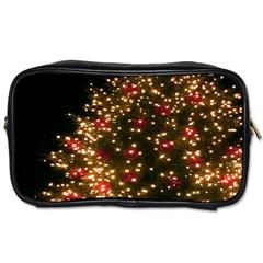Christmas Tree Toiletries Bags