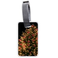 Christmas Tree Luggage Tags (Two Sides)
