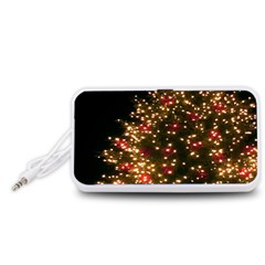 Christmas Tree Portable Speaker (White)