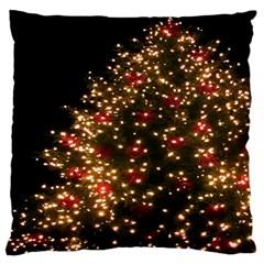 Christmas Tree Large Cushion Case (One Side)