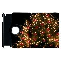 Christmas Tree Apple Ipad 3/4 Flip 360 Case