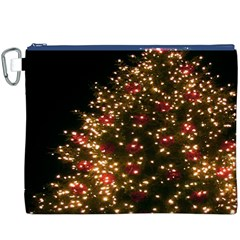 Christmas Tree Canvas Cosmetic Bag (XXXL)