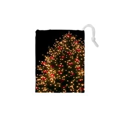 Christmas Tree Drawstring Pouches (XS)