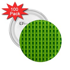 Christmas Tree Background Xmas 2 25  Buttons (100 Pack)