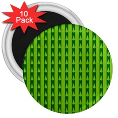 Christmas Tree Background Xmas 3  Magnets (10 pack)