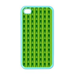 Christmas Tree Background Xmas Apple iPhone 4 Case (Color)