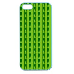 Christmas Tree Background Xmas Apple Seamless iPhone 5 Case (Color)