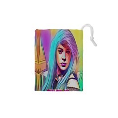 DRAG ON GO Drawstring Pouches (XS)
